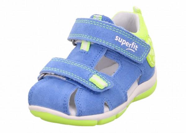 Superfit 609142 8100 Fredy Jungen Lauflern Sandale Blau