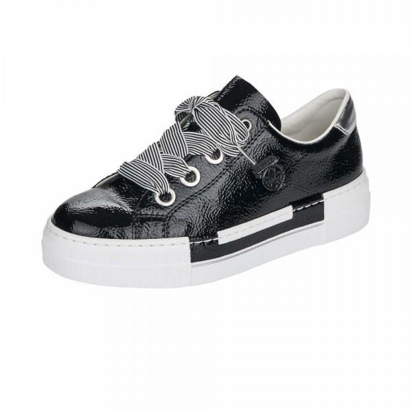 Rieker N49A2 00 Damen Sneaker Schwarz
