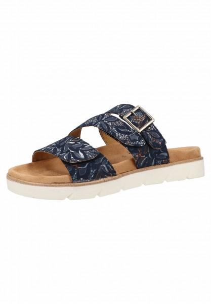 Relife 872211 Damen Komfort Pantolette Blau