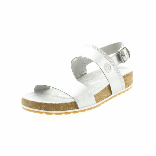 Timberland 21PFY Malibu Waves Damen Sandale Silber