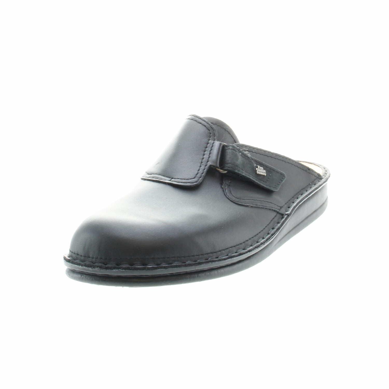 low price sale 50% off new product Finn Comfort 1504 013099 Venedig Herren Pantolette Schwarz