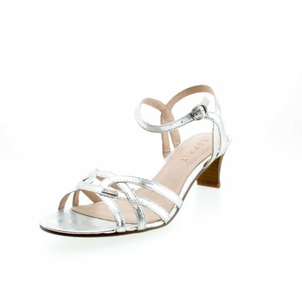 Esprit 037EK1W051 090 Birkin Damen Sandal Silber