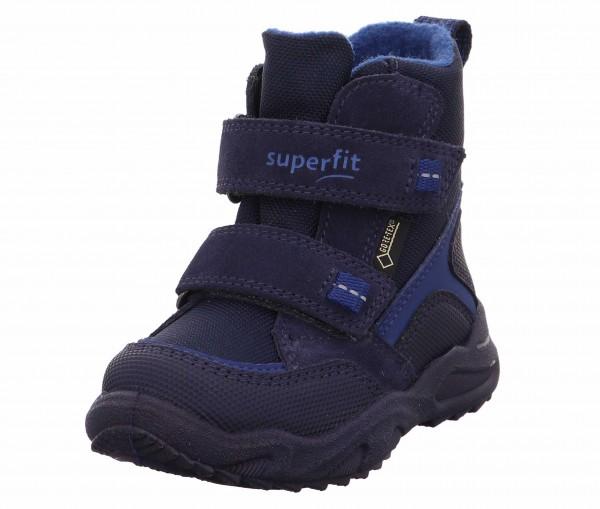 Superfit 1 009235 8000 Glacier Jungen Klettboots Blau