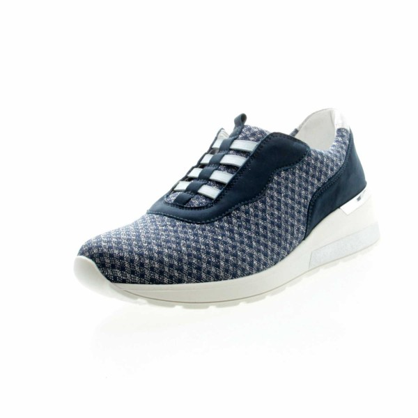 Waldläufer 939H51 311 693 Damen Sneaker Clara Jeans-Blau