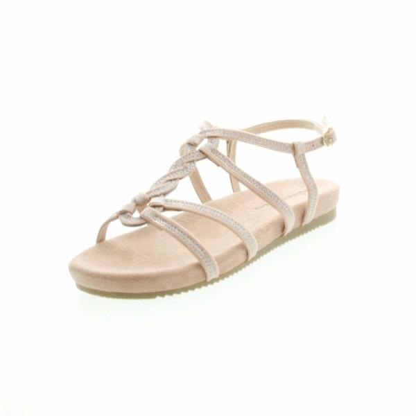 Alma en Pena V18468 Damen Keil Sandale Pink