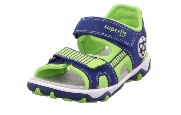 Superfit 0 609465 8100 Mike 3.0 Jungen Sandale Blau