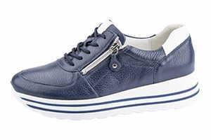 Waldläufer 758009 200 194 Damen Sneaker Lana Blau