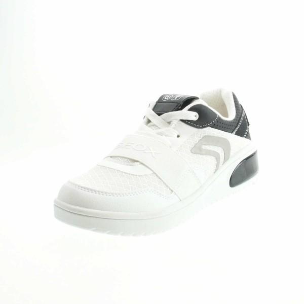 Geox J927QB 01454 C0404 Jungen Sneaker Weiss - Schwarz