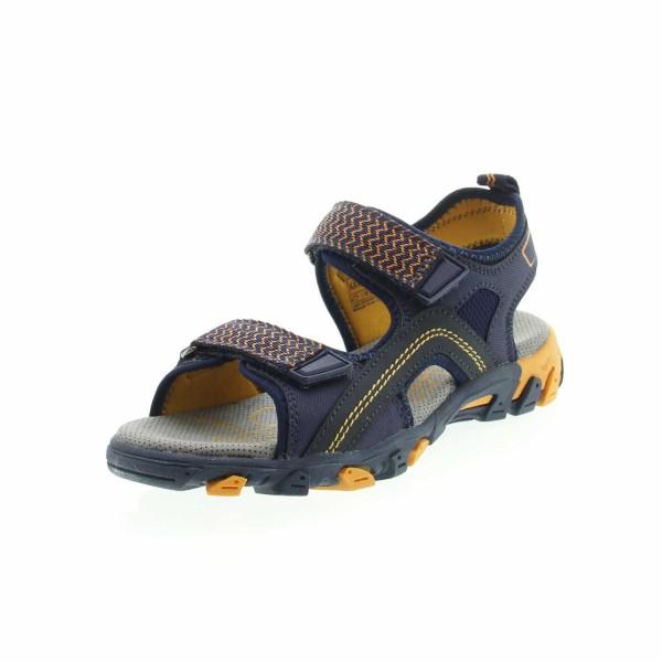 Superfit 4 00451 81 Hike Jungen Sandale Blau - Orange
