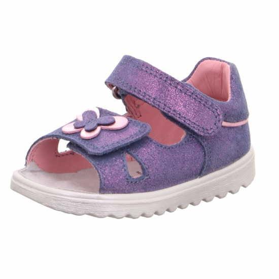 Superfit 6 00015 80 Mädchen Lauflern Sandale Blau
