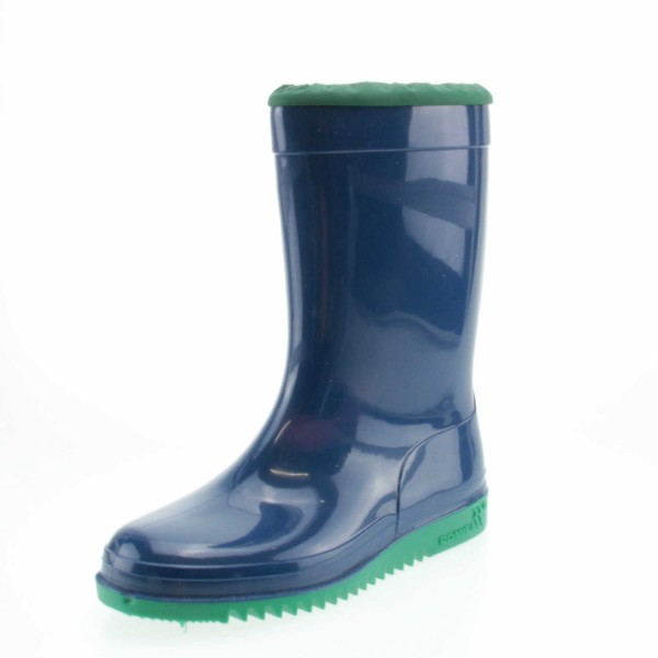 Romika 02002 524 Kadett Unisex Gummiestiefel Blau/Minze