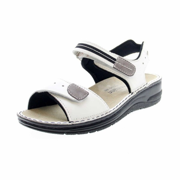 Berkemann 03102 101 Leni Damen Sandale Weiß