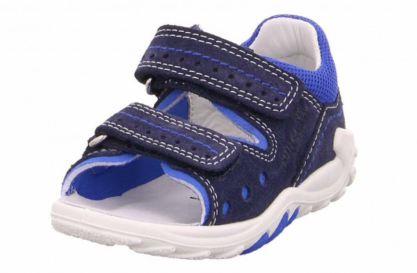 Superfit 0 800030 8100 Flow Jungen Lauflern Sandale Blau