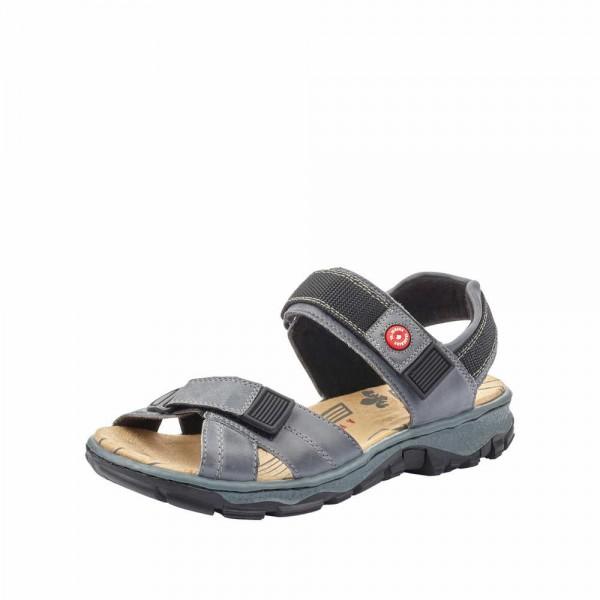 Rieker 68851 12 Damen Sandale Blau