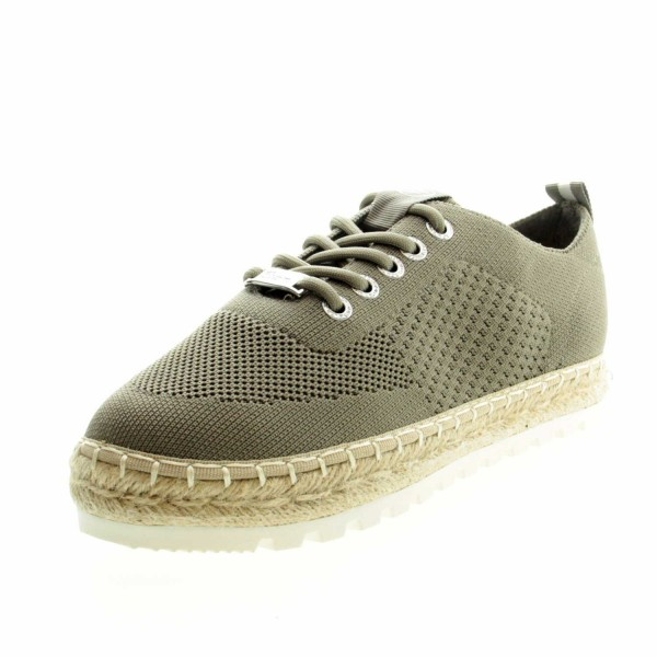 Tom Tailor 1196902 580 Damen Sneaker Grün (Khaki)