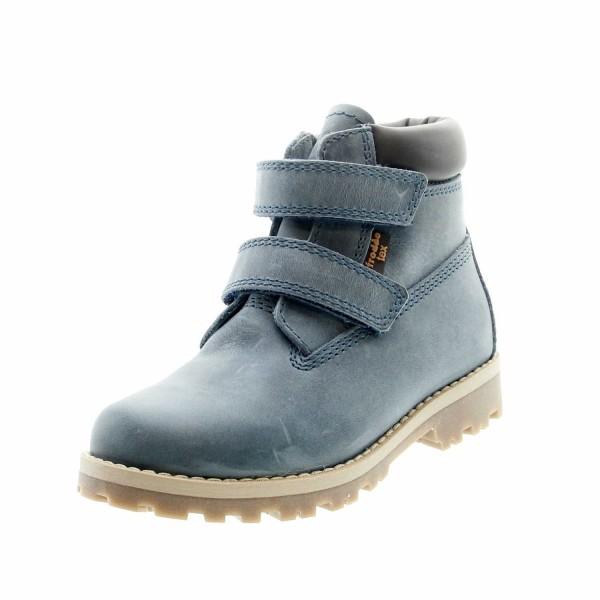 Froddo G3110137 6K Jungen Klettverschluss Boots Jeansblau