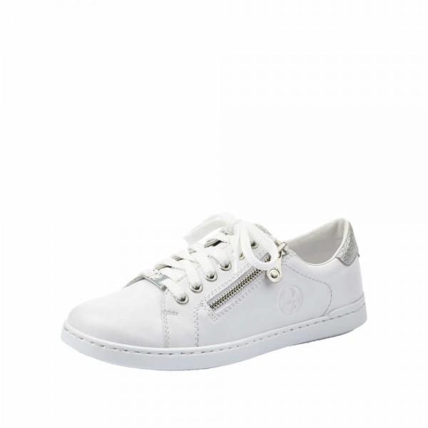 Rieker L2721 80 Damen Sneaker Weiss