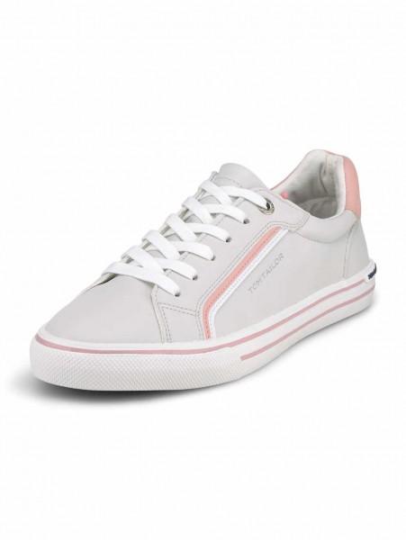 Tom Tailor 1194203 812 Damen Sneaker Hell-Grau