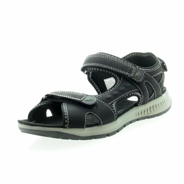 Tom Tailor 8092801 00 Damen Outdoor Sandale Schwarz