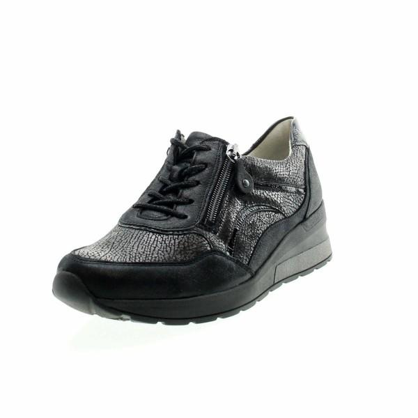 Waldläufer 939011 401 564 Damen Sneaker Clara Schwarz