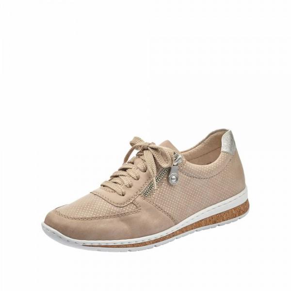 Rieker N5121 62 Damen Sneaker Beige