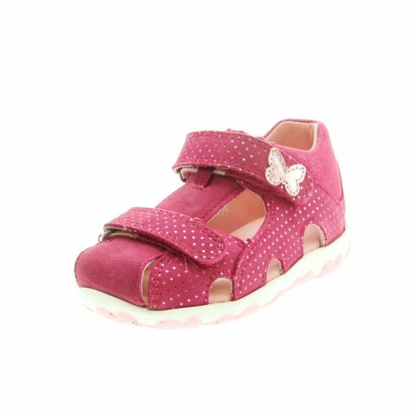 Superfit 09041 50 Mädchen Lauflernsandale Pink