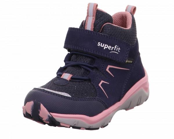 Superfit 1-000243-8010 Mädchen Boots Sport5 Blau