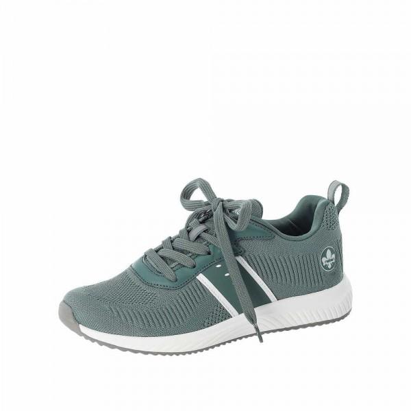 Rieker N9612 52 Damen Sneaker Grün