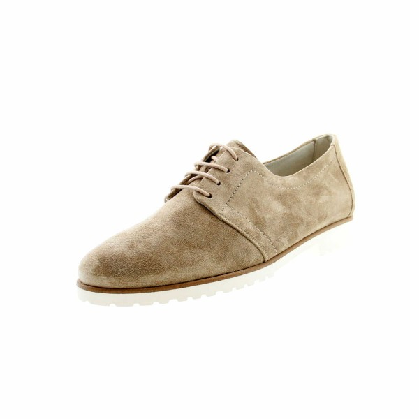 Paul Green 2595 016 Damen Schnürschuh Beige