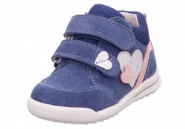 Superfit 1 006377 8000 Avrile Mädchen Lauflernschuh Jeans-Blau