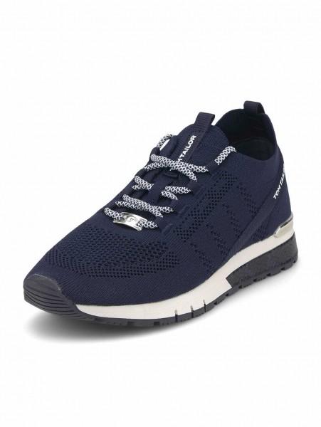 Tom Tailor 1191101 560 Damen Sneaker Dunkel-Blau