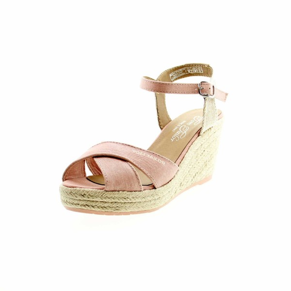 Tom Tailor 8090101 Damen Keilsandalette Rose