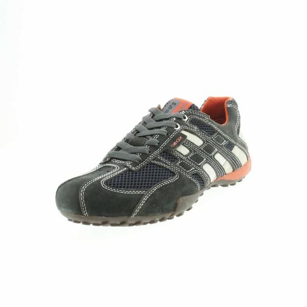 Geox U4207K 02214 C1300 Herren Sneaker Dunkelgrau