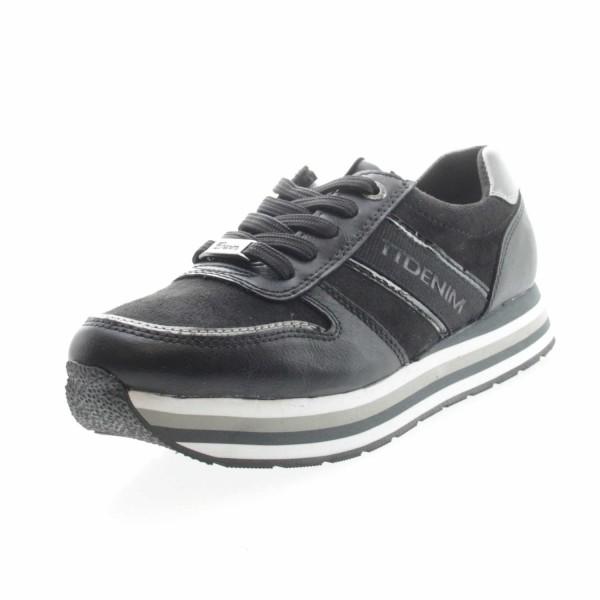 Tom Tailor 9095501 001 Damen Sneaker Schwarz