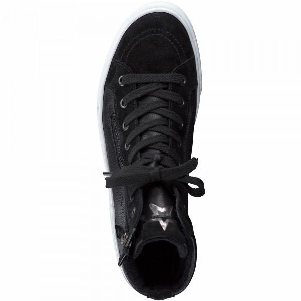 Paul Green 4004 008 Damen Sneaker Schwarz
