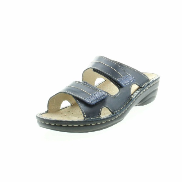 Rohde 5777 50 Cremona Damen Komfort Pantolette Blau