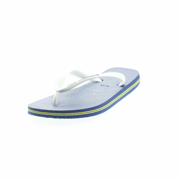 Havaianas 4.110.850 2711 Kinder Zehensteg Pantolette Blau/Weiss