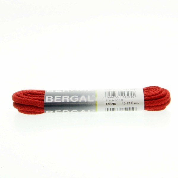 Kordelsenkel Rot 8824 120 von Bergal