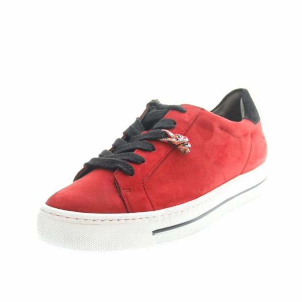 Paul Green 4835 055 Damen Sneaker Rot (Chilly)